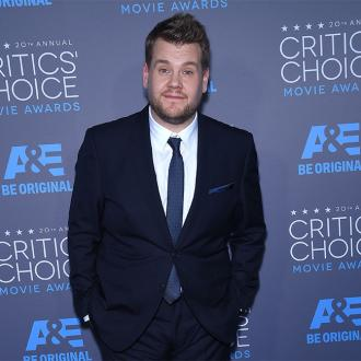 James Corden visits sweat lodge