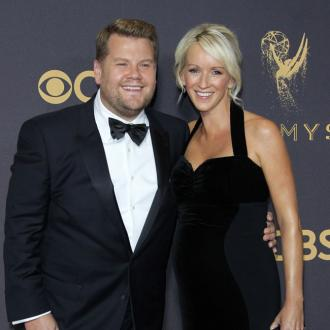 James Corden can't bear being away from family