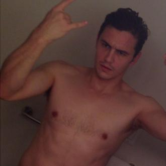 James Franco Getting Buff