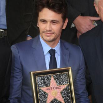 James Franco receives Hollywood star