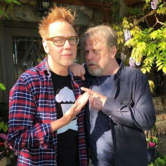 Mark Hamill meets with Guardians of the Galaxy director James Gunn