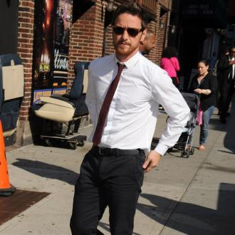 James McAvoy is a 'huge energy ball'