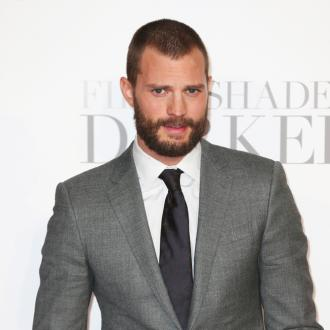 Jamie Dornan glued a beard to his private parts