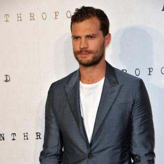 Jamie Dornan's bouncy walk