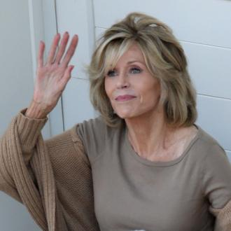 Jane Fonda Smokes Marijuana
