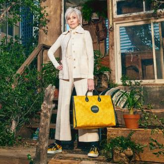 Gucci launches sustainable line featuring Jane Fonda and Lil Nas X
