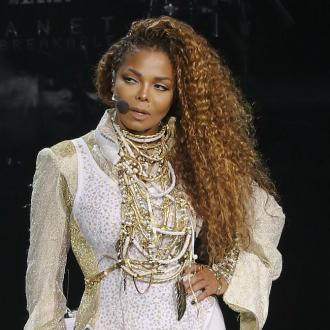 Janet Jackson receives congratulations after giving birth