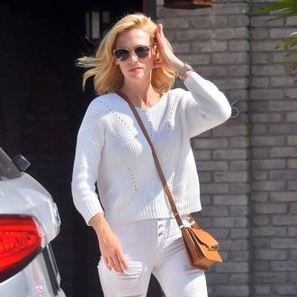 January Jones Gets Claustrophobic