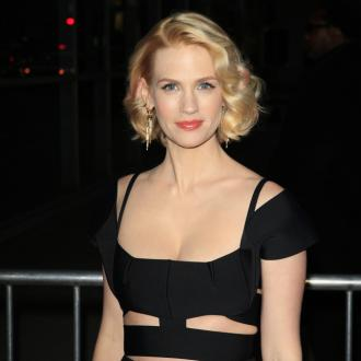 January Jones Doesn't Get Nervous