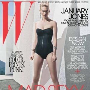 January Jones Loves Butt-kicking Boots