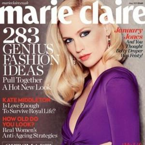 January Jones Happy To Live Alone
