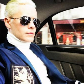 Jared Leto dyes hair platinum blonde