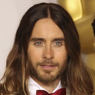 Jared Leto's Unwashed Oscars Hairdo