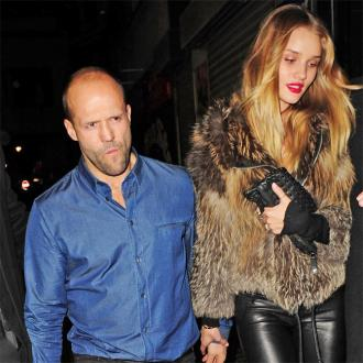 Jason Statham And Rosie Huntington-whiteley Enjoy Romantic Break