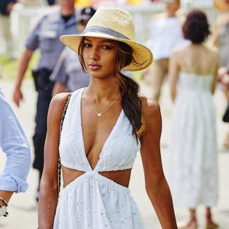 Jasmine Tookes ate a burger before her Victoria's Secret fitting