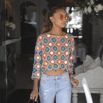 Jasmine Tookes loves working out in 'long tights'