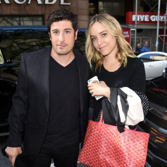 Jason Biggs hails wife as a champion