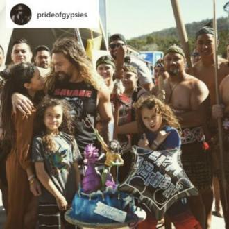 Jason Momoa's birthday surprise