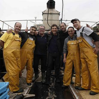 Javier Bardem helping to save the ocean