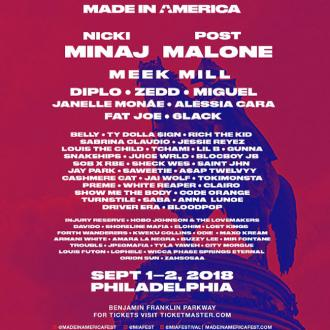 Jay-Z announces Made in America line-up