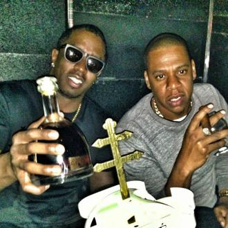 Jay Z And Diddy Party In Hollywood