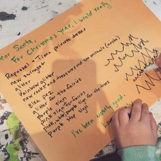 Jenna Dewan Tatum reveals daughter Everly's letter to Santa