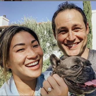 Jenna Ushkowitz engaged