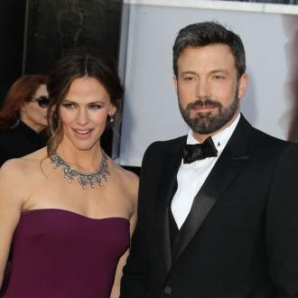 Ben Affleck Teaches Son About 'His Bits'