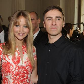 Raf Simons Got Advice From Jennifer Lawrence For Dior And I