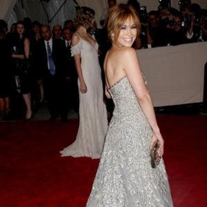 Jennifer Lopez's Blusher Glow