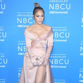 Jennifer Lopez has a ladder in her closet