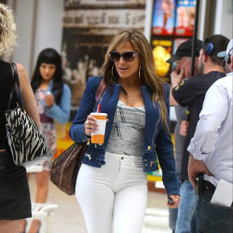 Jennifer Lopez has a bling cup obsession