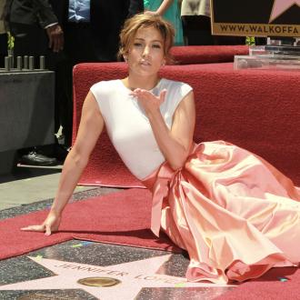 Jennifer Lopez Receives Walk Of Fame Star