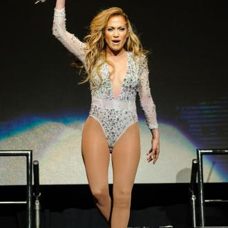 Jennifer Lopez 'In A Great Mood' At Iheartradio Pool Party