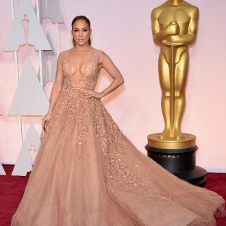 Jennifer Lopez Slipped On Dress