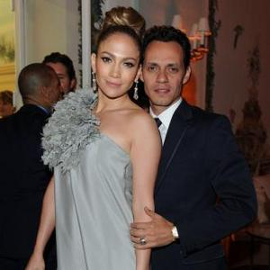 Jennifer Lopez Reunites With Marc On Stage