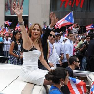 Jennifer Lopez's Puerto Rican Parade