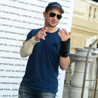 Tag star Jeremy Renner didn't know he'd broken his arms