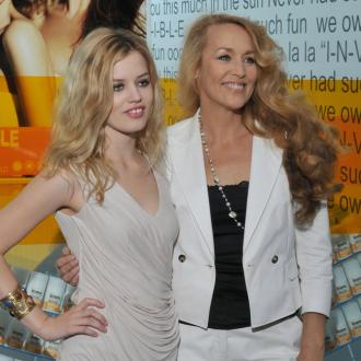Jerry Hall's A Role Model For Daughter