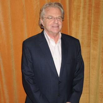 Jerry Springer: My talk show isn't for people with serious problems