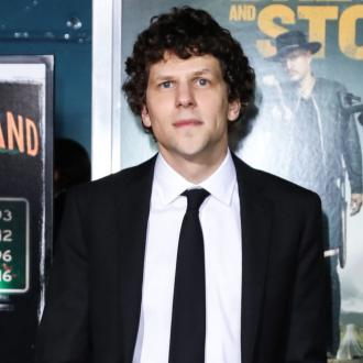Jesse Eisenberg says performing on stage is a 'beautiful' distraction