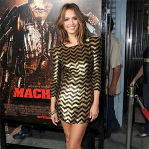 Jessica Alba Happy With Body Flaws