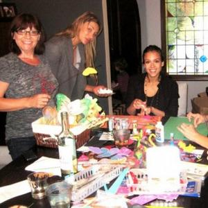 Jessica Alba Has 'Diy' Baby Shower