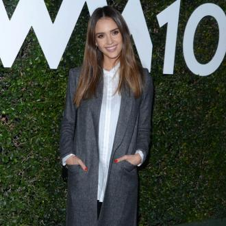 Jessica Alba Takes Kids To Work