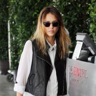 Jessica Alba's Satin Slipper Guest Request