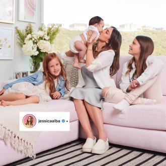 Jessica Alba cherishes 'messy' moments with her kids