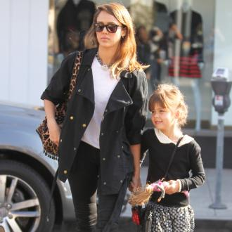 Jessica Alba's Kids Don't Know She's Famous