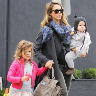 Jessica Alba's Kids Get Crazy On Sugar