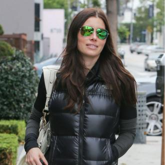 Jessica Biel is still working hard