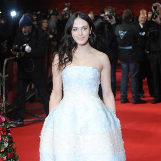 Jessica Brown Findlay flew her mum to US for new film